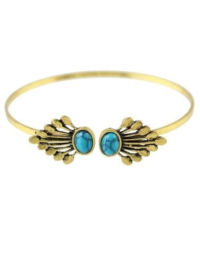 Turquoise Cuff Thin Bracelet