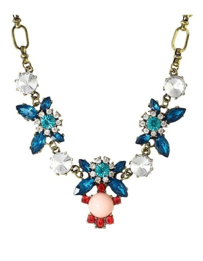 Beautiful Statement Rhinestone Necklace