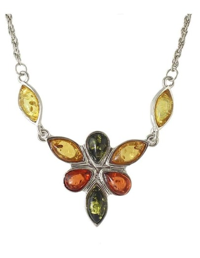 Colorful Rhinestone Fashion Necklace
