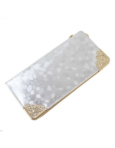 Silver Wallet for Evening Party