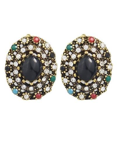 Rhinestone Small Stud Earring