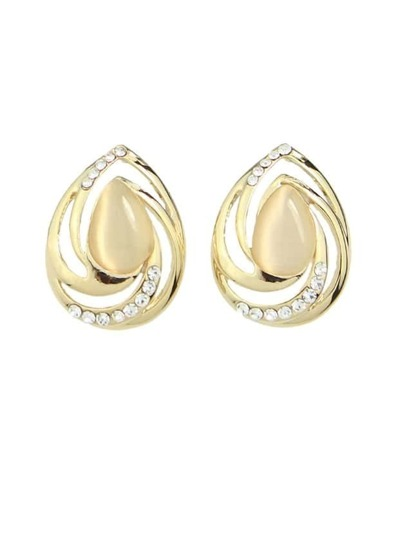Rhinestone Beautiful Stud Earring