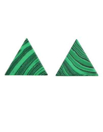 Triangle Shape Small Stud Earrings