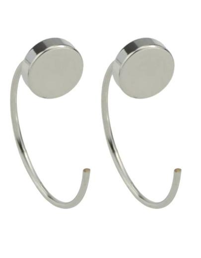 Silver Plated Stud Earrings