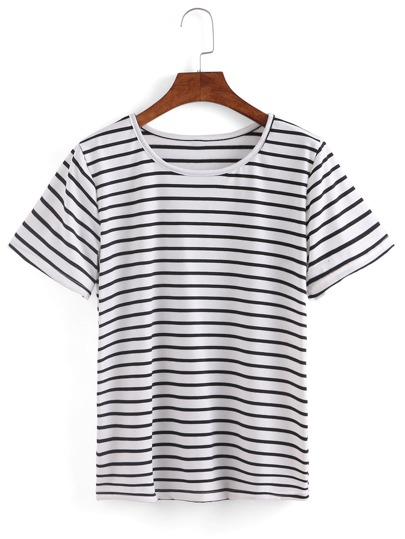 Stripd Short Sleeve T-shirt