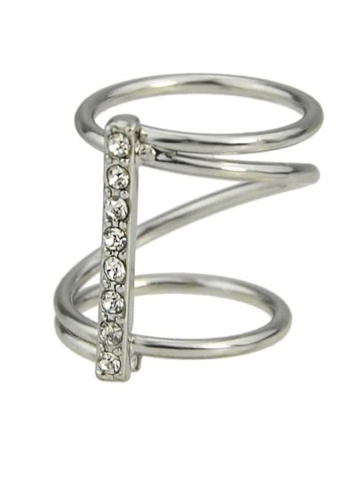 Silver Plating Round Shape Ring