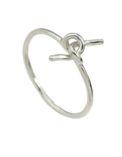 Silver Plated Women Ring
