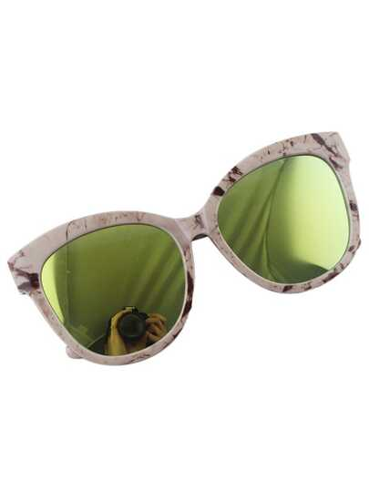 Olive Big Sunglasses