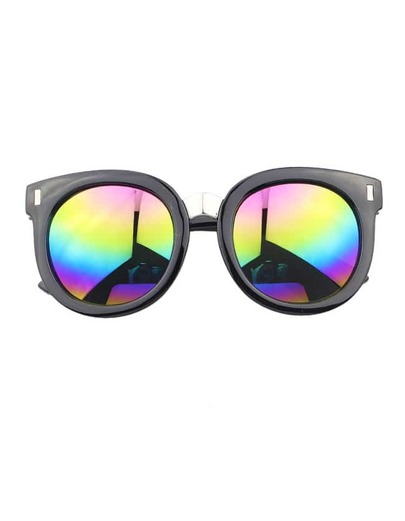 Colorful Round Large Sunglasses