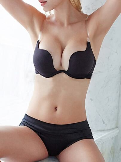 Crisscross Push-Up Bra