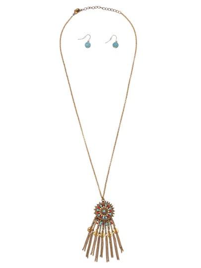 Dreamcatcher Tassel Vintage Jewelry Set