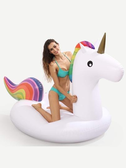 Unicorn Pool Float - White