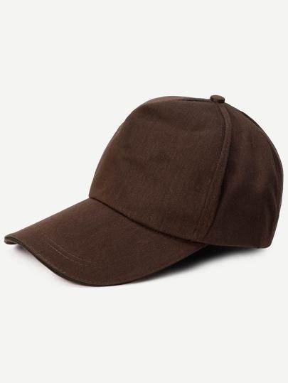 Coffee Basic Cotton Baseball Hat