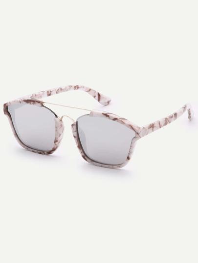 Gafas de sol cuadrada de moda