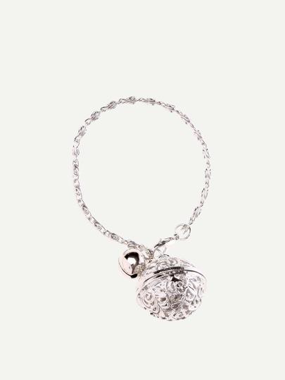 Silver Jingle Bell Bracelet
