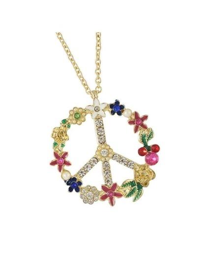 Rhinestone Women Long Necklace