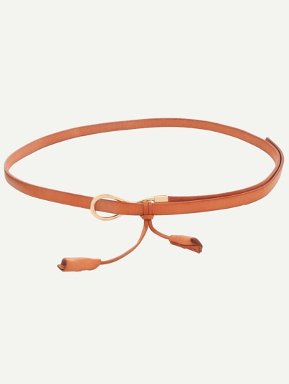 Camel Tassel-shaped Minimalist Belt