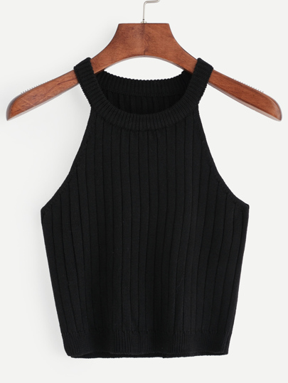 Knitted Rib Tank Top