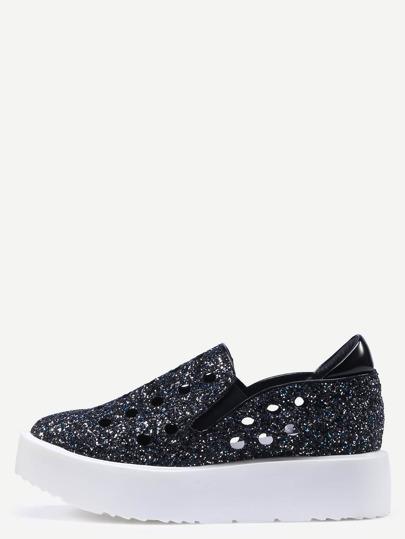 Zapatillas redonda suela gruesa