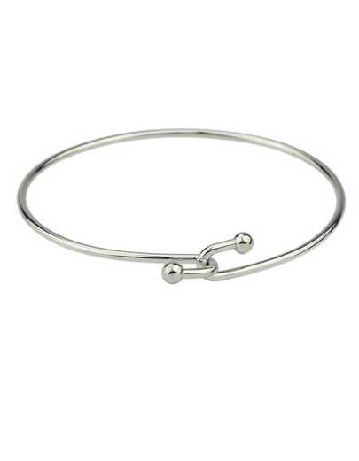Silver Plated Thin Bracelet