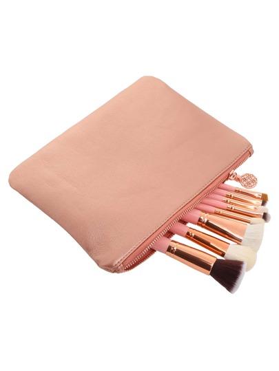 8 PCS Makeup Brushes With Bag