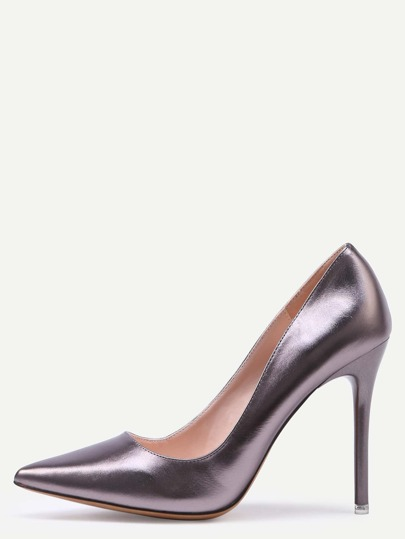 Purple Pointed Toe Stiletto Heels