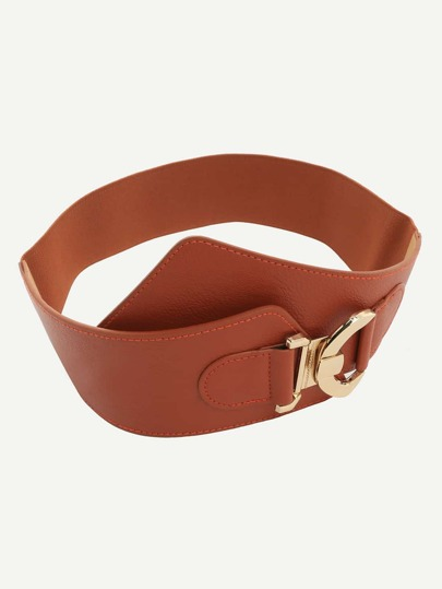 Camel Interlock Wide Belt