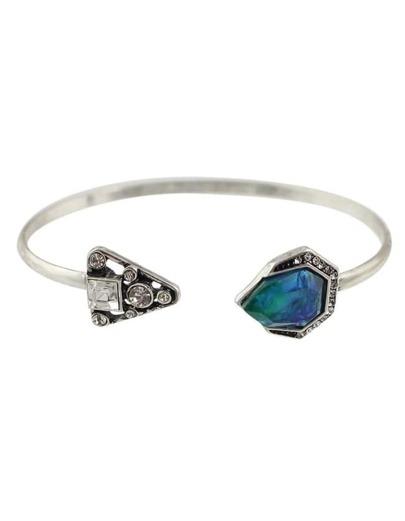 Rhinestone Adjustable Cuff Bracelet