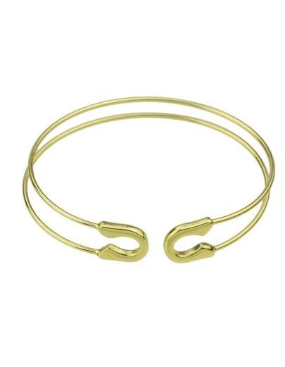 Gold Adjustable Cuff Bracelet