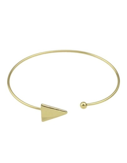 Gold Adjsutable Cuff Bracelet