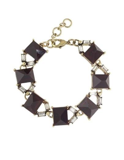 Gemstone Charms Custom Bracelet