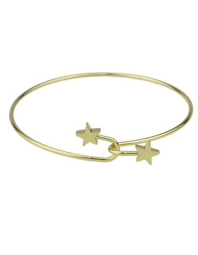 Gold Plated Thin Bracelet