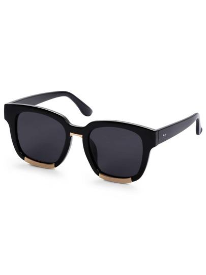Super Dark Black Lens Sunglasses