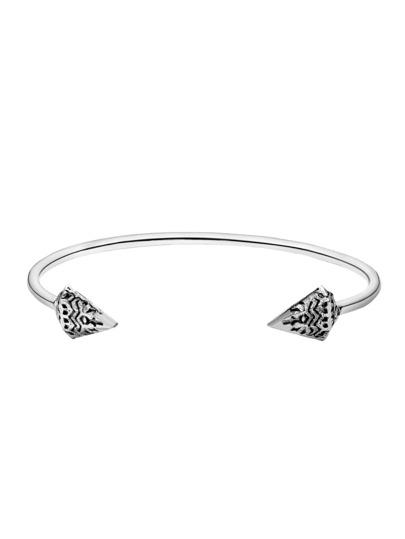 Silver Arrow Retro Punk Bracelet