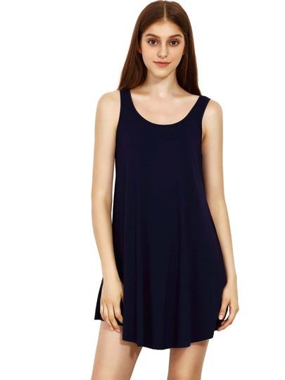 Blue Swing Tank Kleid