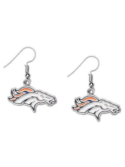Denver Broncos Logo Drop Earrings