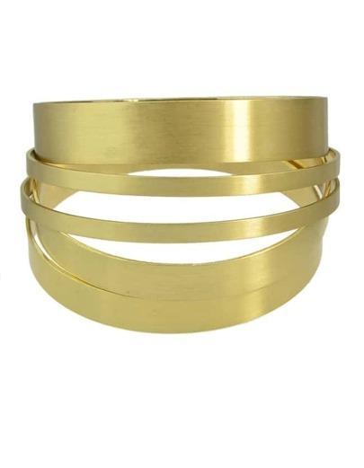 Gold Plated Chunky Bracelet