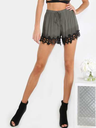 Lacey Shorts HUNTER GREEN