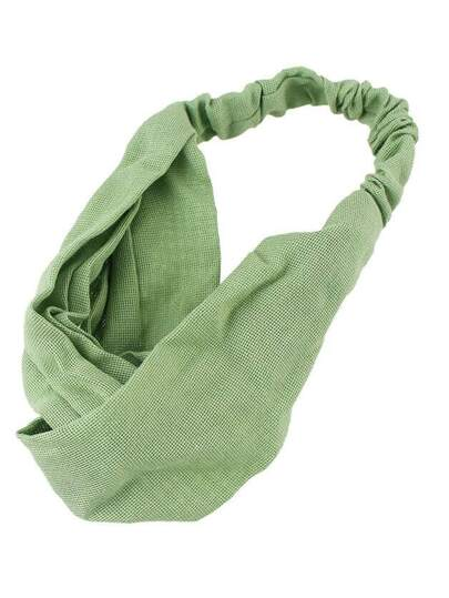 Green New Coming Elastic Hair Band