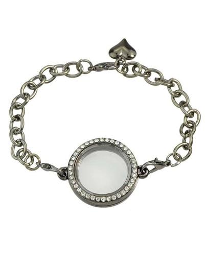 Black Chain Link Bracelet
