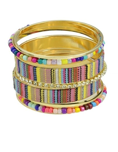 Colorful Braided Rope Bracelet