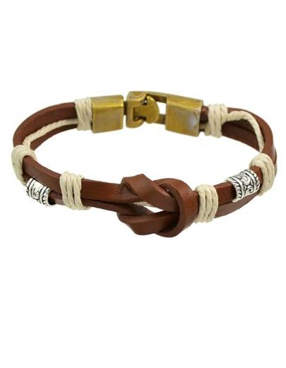 Braided Pu Leather Wrap Bracelet