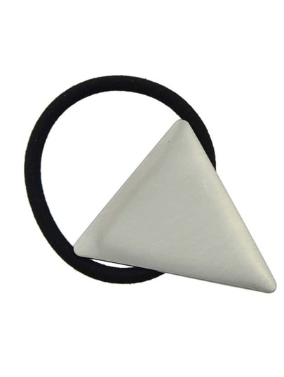 Silver Color Triangle Hairgrips Barrettes Hairwear