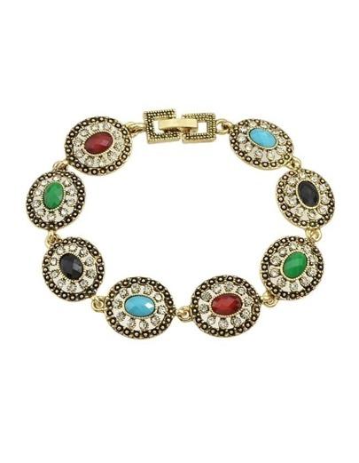 Gold Plated Rhinestone Bracelet