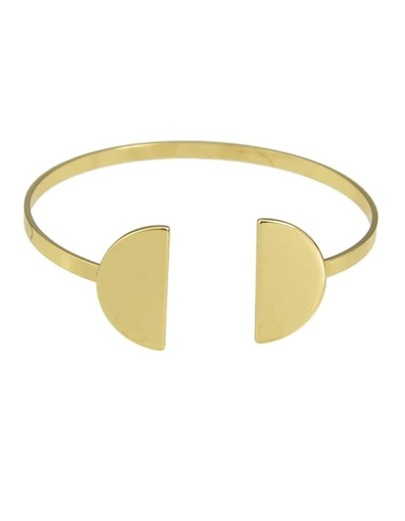 Gold Plated Open Cuff Bracelet