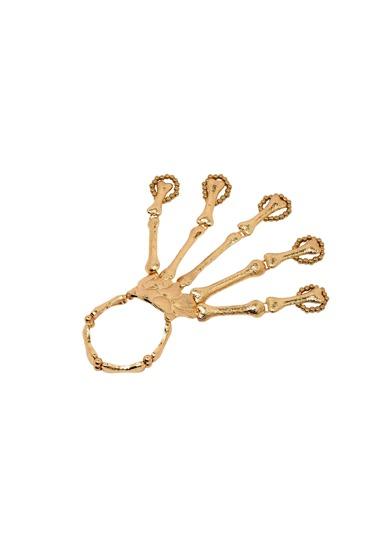 Золотистый стильный браслет