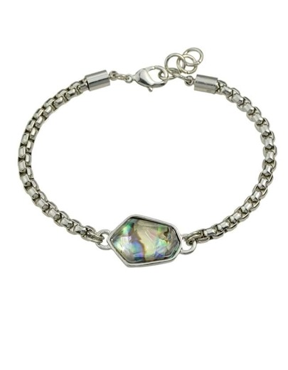 Silver Plated Chain Link Bracelet