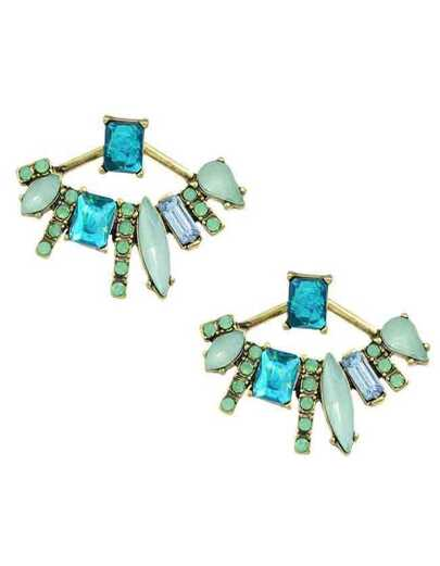 Rhinestone Beautiful Sud Earrings