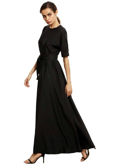 Self Tie Maxi Dress