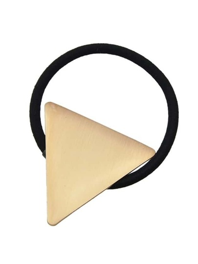 Lightgold Triangle Hairgrips Barrettes Hairwear